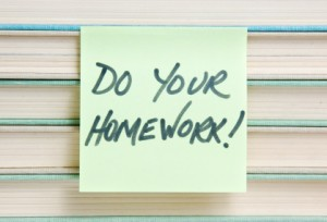 Do Your Homework with Keywords Research